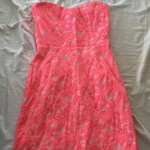 Dresses & Skirts - Eight sixty hot pink sweetheart dress
